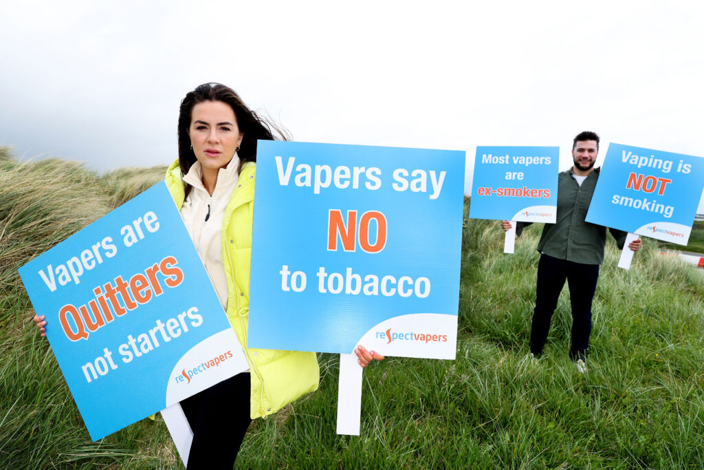 Vapers Say NO to Tobacco
